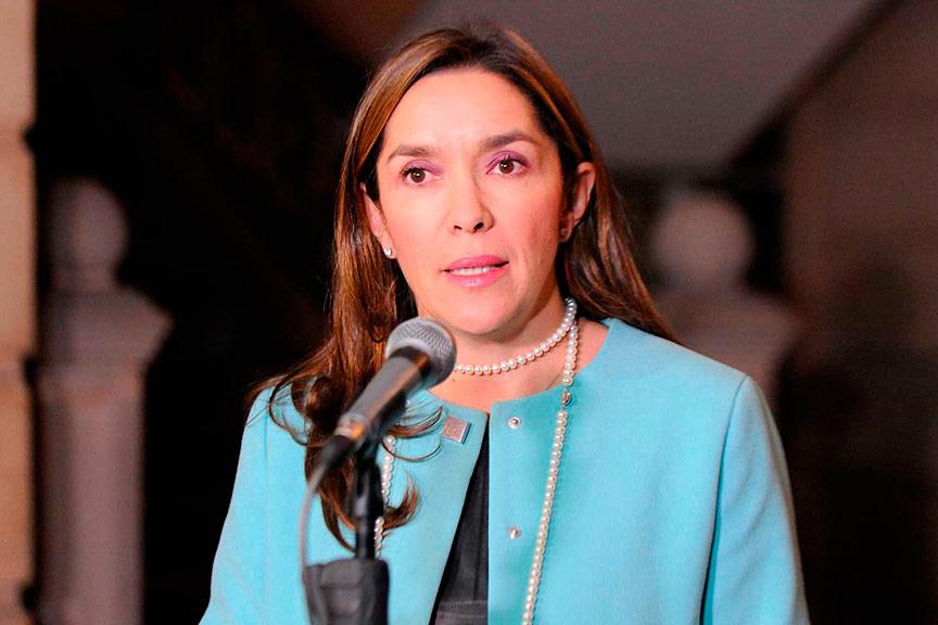 María Fernanda Suárez, ministra de Minas. | Foto: Mónica González - Presidencia