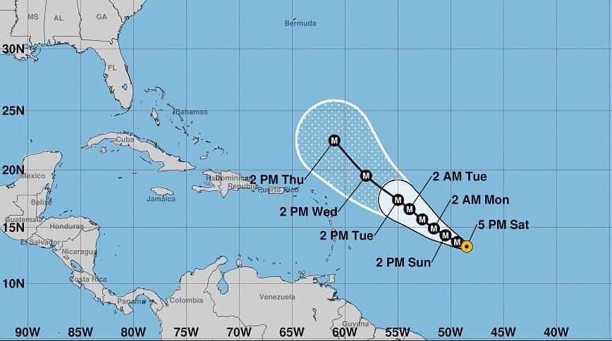 SAM se convierte en un poderoso huracán categoría cuatro - Noticias de Colombia